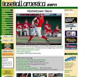 2005: Are you guys ever going to redesign your site?
