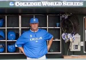 UCLA coach John Savage (photo by Andrew Woolley)