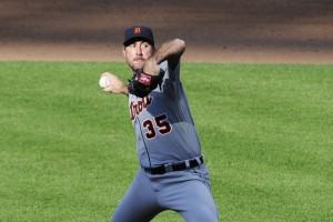 Justin Verlander (Photo by Diamond Images).