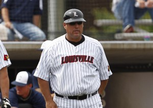 Chris Lemonis is one of college baseball's top hitting coaches (Photo courtesy University of Louisville Sports Information)
