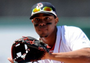 Xander Bogaerts is likely to start at short for the Red Sox. (Photo by Ken Babbitt)