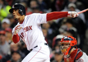 Top rookie Xander Bogaerts got his feet wet last fall and is ready for center stage as Red Sox shortstop. (Photo by Ken Babbitt).
