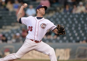 Mike Foltynewicz (Photo by John Williamson).