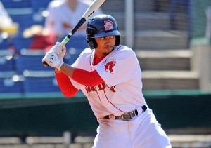 With a huge calendar year and then some, Mookie Betts has vaulted into prospect superstardom (Photo by Ken Babbitt).