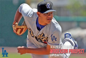 Dodgers lefthander Julio Urias