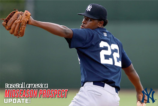 Yankees righthander Luis Severino