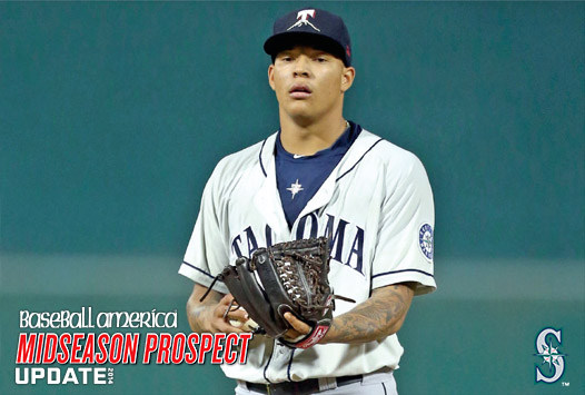 Seattle righthanded pitcher Taijuan Walker