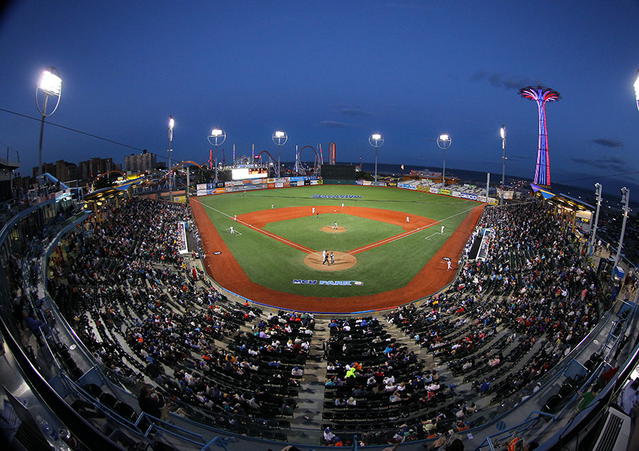 Best ballparks in the minors baseballamerica brooklyns mcu park courtesy brooklyn cyclones malvernweather Gallery