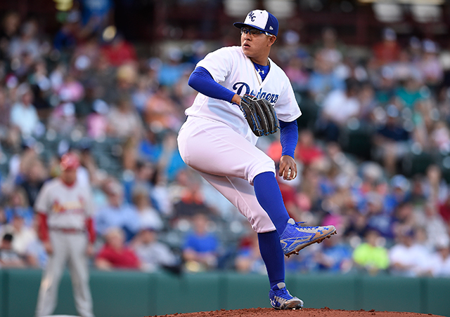 Julio Urias (Photo by John Williamson)