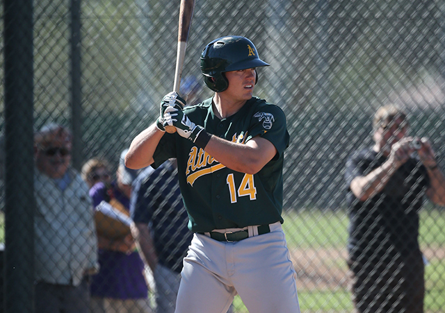 Ryon Healy (Photo by Bill Mitchell)