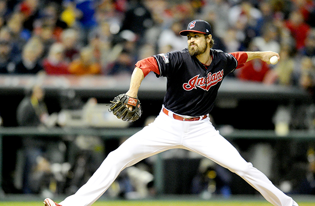 Andrew Miller was the ALCS MVP (Photo by Diamond Images)