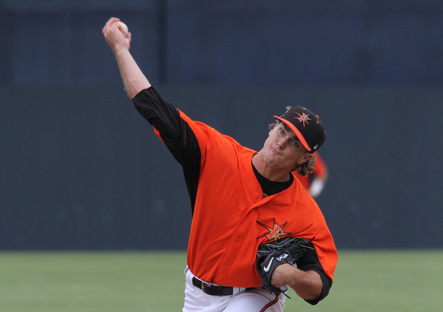 Former Bullock Creek pitching star Akin selected by Orioles in second round - Midland Daily News