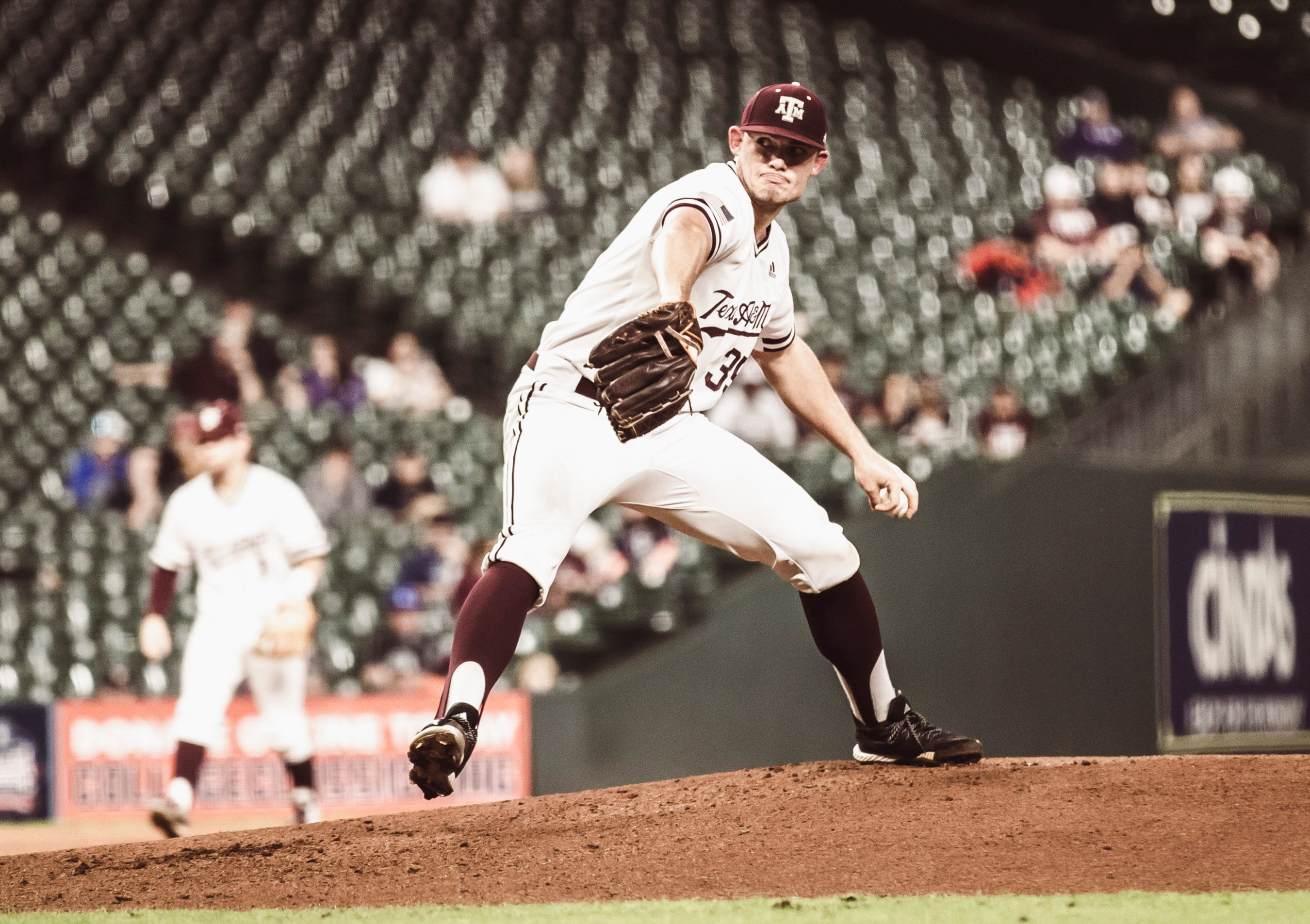 Asa Lacy Pitches Texas A&M To Big Win, Shows Off First-Round