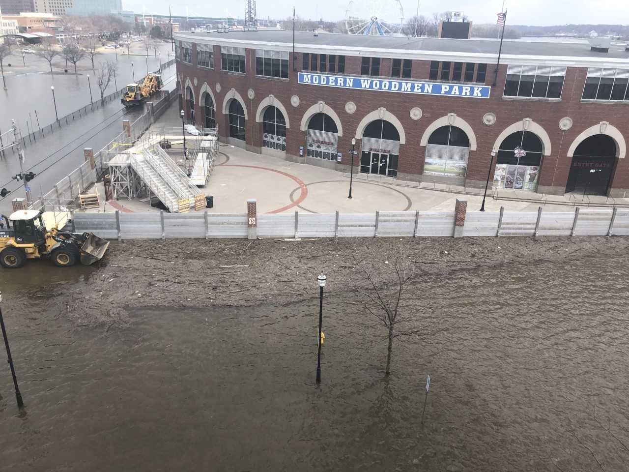 Quad Cities Gets An Unexpected Three-Week Road Trip Because Of Flooding