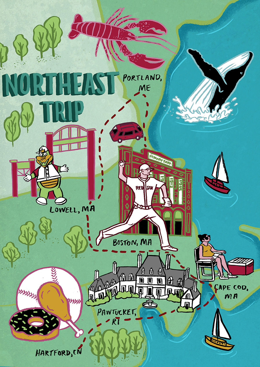Northeast Road Trip >> Ultimate Road Trips Northeast