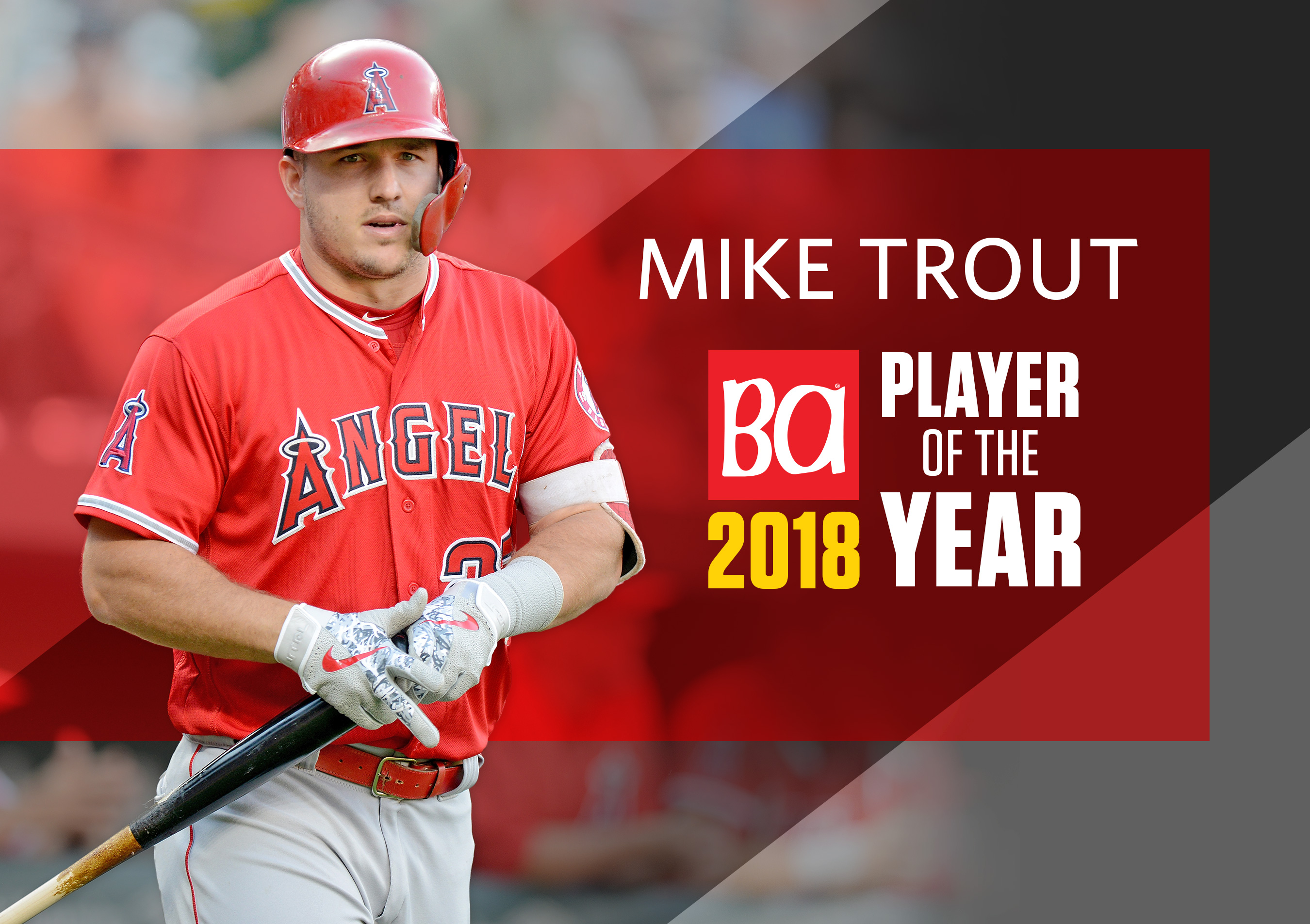 2018 Mlb Player Of The Year Mike Trout