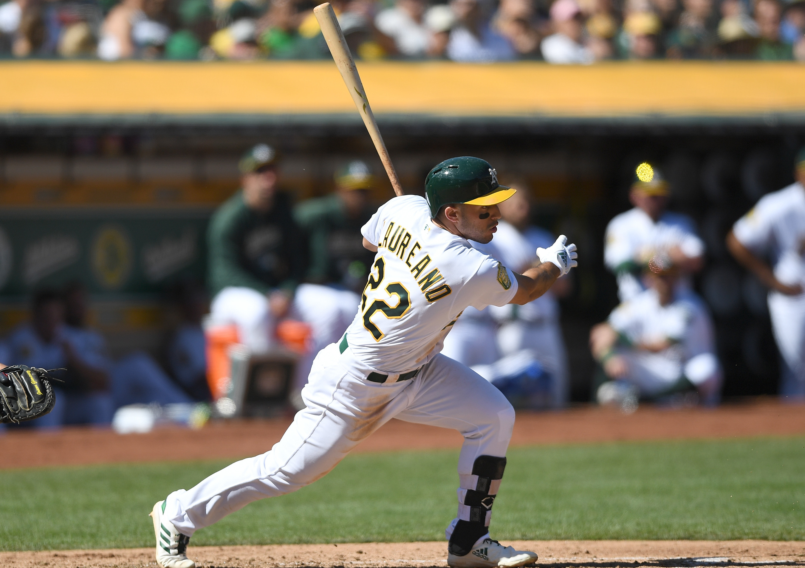 Ramon Laureano Oakland Athletics