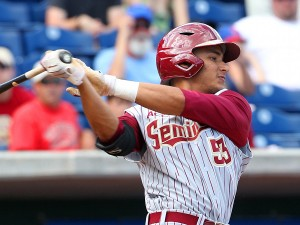 Jose Brizuela had four RBIs for Florida State on Saturday.