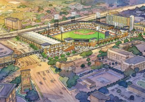 Contruction of the new ballpark in Biloxi, Miss., may not be done in time for Opening Day next year.