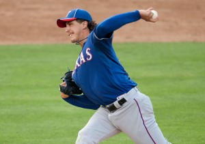 Derek Holland (Photo by Andrew Woolley).