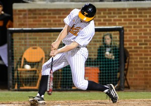 Nathaniel Maggio had the winning hit Saturday.