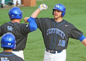 Kentucky junior A.J. Reed overwhelmed SEC competition at the plate (23 home runs) and on the mound (12-2, 2.09 record)