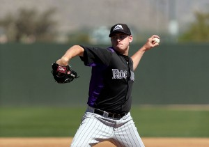 Tyler Matzek overcame trouble in 2011 to get to the big leagues (Bill Mitchell).