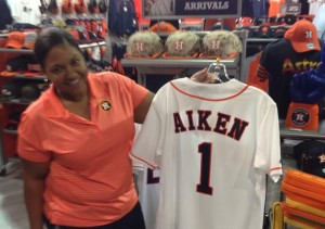 The Astros tweeted a photo of Brady Aiken's jersey the day after he was drafted.