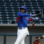 Jorge Soler is the latest Cubs' top prospect to be summoned to the bigs. (Photo by Bill Mitchell).