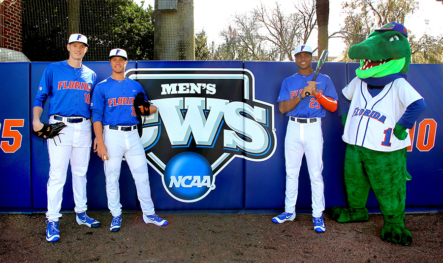 The top-ranked Gators (Photo by Cliff Welch)