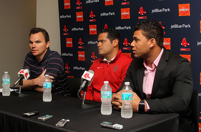 Ben Cherington stepped down as Red Sox general manager last August (Photo by Cliff Welch)