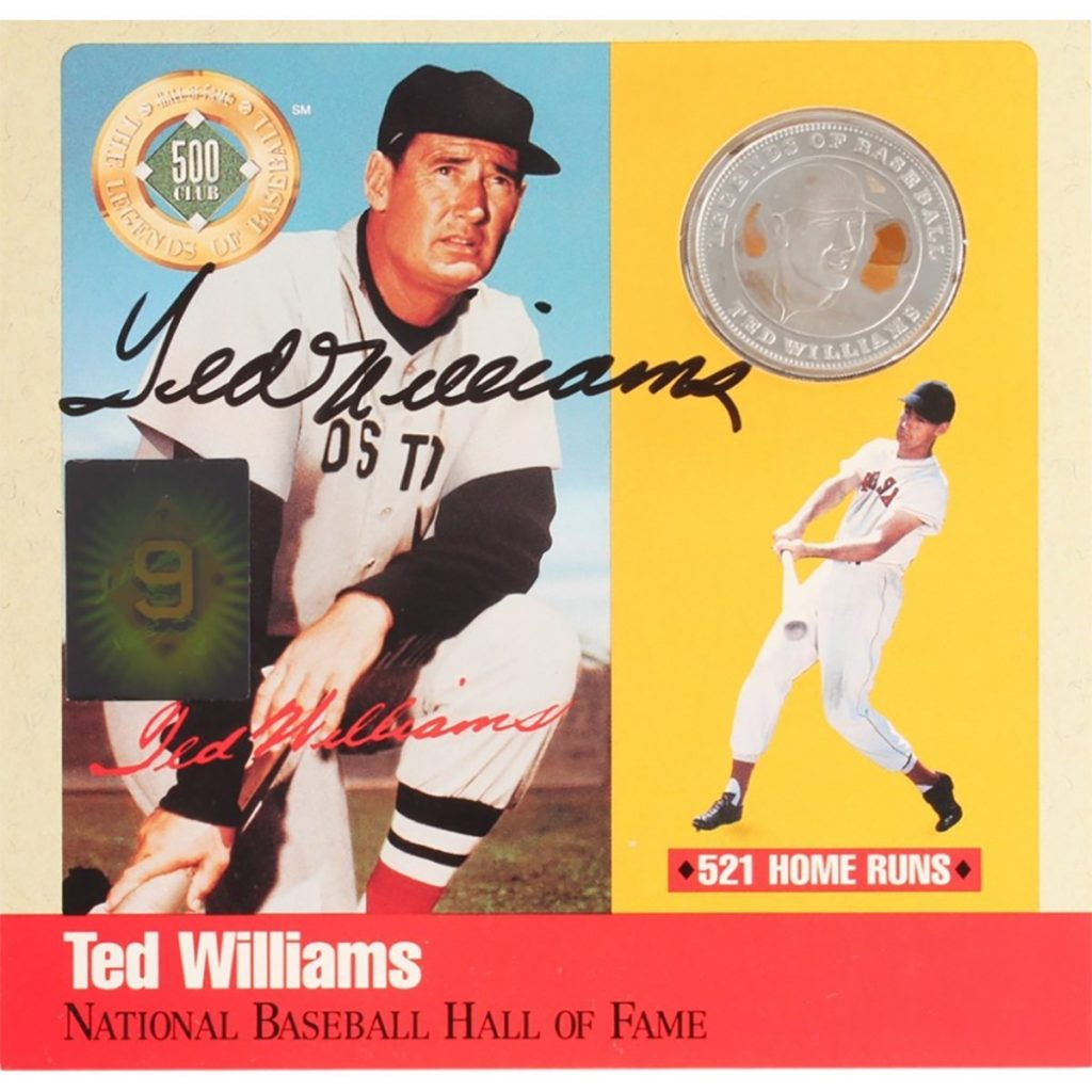 Ted Williams Giveaway Presented By Diamond Baseball Tours